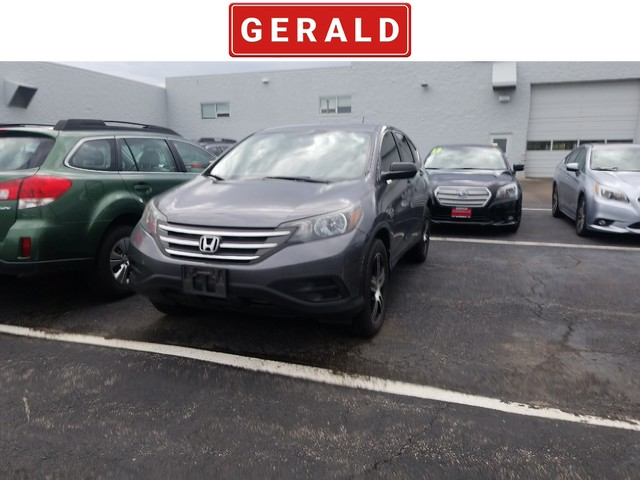 Pre Owned 2013 Honda Cr V Lx Suv In North Aurora 20936a Gerald