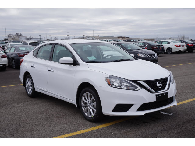 New 2018 Nissan Sentra S Cvt S 4dr Sedan Cvt In North