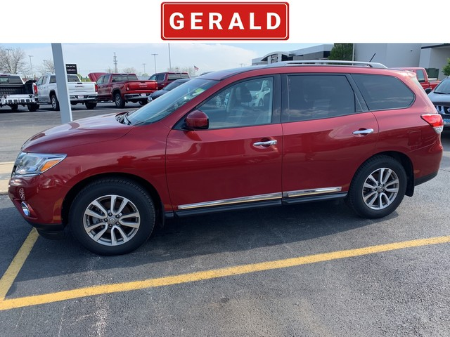 Four Wheel Drive Suv Pre Owned 2017 Nissan Pathfinder Sl