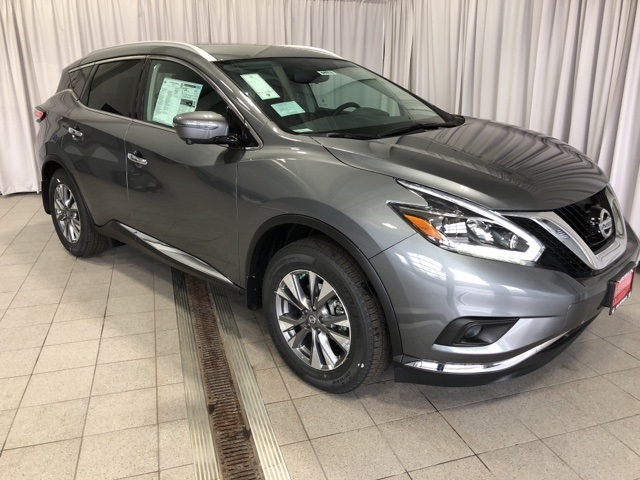 New 2018 Nissan Murano SL 4D Sport Utility in North Aurora #44052 ...