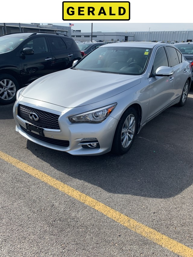 Pre-Owned 2015 INFINITI Q50 Premium With Navigation & AWD