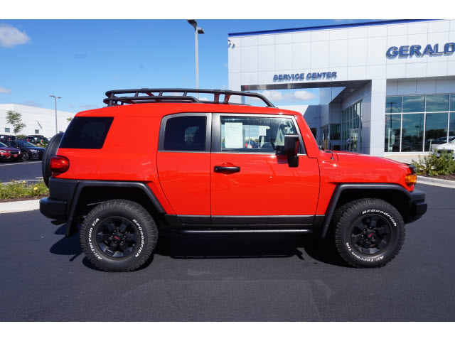 Pre Owned 2012 Toyota FJ Cruiser Base Trail Teams Special Edition