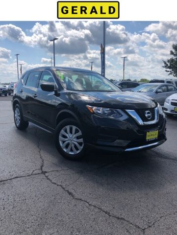 Certified Pre-Owned 2017 Nissan Rogue S SUV in North Aurora